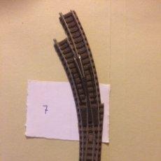 Trenes Escala: DESVÍO IZQUIERDO CURVO FLEISCHMANN ESCALA N. Lote 105491319