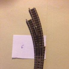 Trenes Escala: DESVIO MANUAL CURVO IZQUIERDA FLEISCHMANN ESCALA N. Lote 105528467