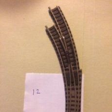 Trenes Escala: DESVIO MANUAL CURVO IZQUIERDO FLEISCHMANN N. Lote 105530795