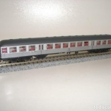Trenes Escala: FLEISCHMANN N PASAJEROS PLATA (SUPUESTO FLEISCHMANN) (CON COMPRA DE 5 LOTES O MAS ENVÍO GRATIS). Lote 106938335