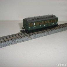 Trenes Escala: FLEISCHMANN N PASAJEROS PRUSIANO 3 EJES CON LUZ (CON COMPRA DE 5 LOTES O MAS ENVÍO GRATIS). Lote 107997111