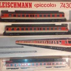 Trenes Escala: COMPOSICIÓN PICCOLO 7430 FLEISCHMANN N 7430 7432. Lote 114482124