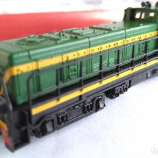 Trenes Escala: FLEISCHMANN N LOCOMOTORA TRACTOR DIESEL VALENCIANA, RENFE REF 722701, VÁLIDO IBERTREN 2N. Lote 115339879