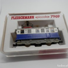 Trenes Escala: LOCOMOTORA ELECTRICA DE MONTAÑA ESCALA N DE FLEISCHMANN. Lote 117995599