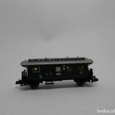 Trenes Escala: VAGÓN PASAJEROS 2 EJES ESCALA N DE FLEISCHMANN . Lote 118013507
