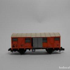 Trenes Escala: VAGÓN CERRADO ESCALA N DE FLEISCHMANN . Lote 118013659