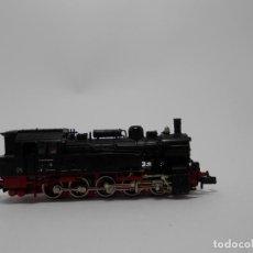 Trenes Escala: LOCOMOTORA VAPOR ESCALA N DE FLEISCHMANN . Lote 118133591