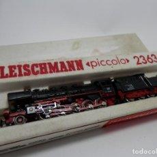 Trenes Escala: LOCOMOTORA VAPOR ESCALA N DE FLEISCHMANN . Lote 118623879