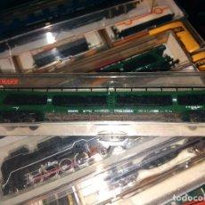 Treni in Scala: FLEISCHMAN - 8284 -LN CAR TRANSPORTER CARS OF THE DB, EPOCH IV. Lote 122313239