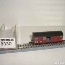 Trenes Escala: FLEISCHMANN N CERRADO CON PUERTAS CORREDERAS REF 8330 (CON COMPRA DE 5 LOTES O MAS ENVÍO GRATIS). Lote 125314163