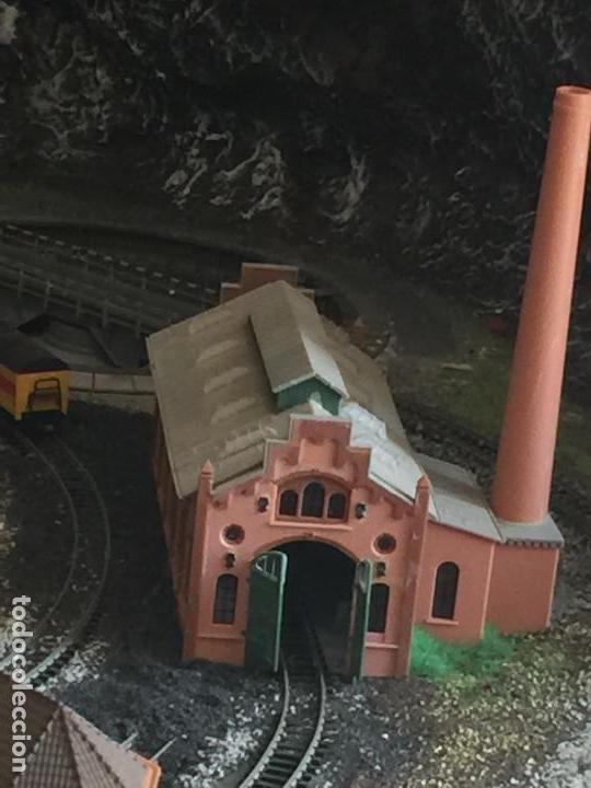 Trenes Escala: Extraordinaria y única MAQUETA DE TREN, gran tamaño, + de 3 mts de largo. Escala N. Una obra de arte - Foto 28 - 129289567