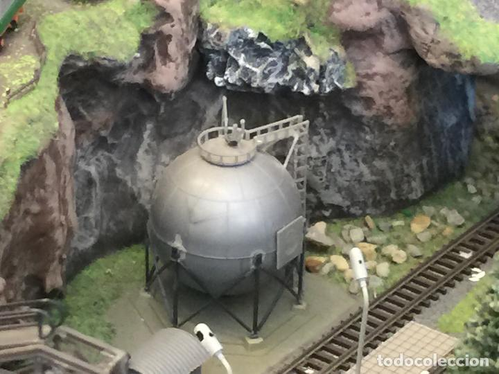 Trenes Escala: Extraordinaria y única MAQUETA DE TREN, gran tamaño, + de 3 mts de largo. Escala N. Una obra de arte - Foto 44 - 129289567