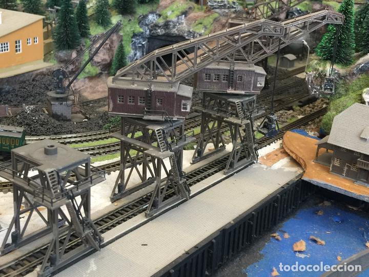 Trenes Escala: Extraordinaria y única MAQUETA DE TREN, gran tamaño, + de 3 mts de largo. Escala N. Una obra de arte - Foto 51 - 129289567