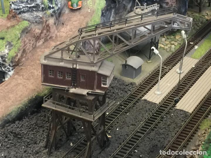 Trenes Escala: Extraordinaria y única MAQUETA DE TREN, gran tamaño, + de 3 mts de largo. Escala N. Una obra de arte - Foto 56 - 129289567