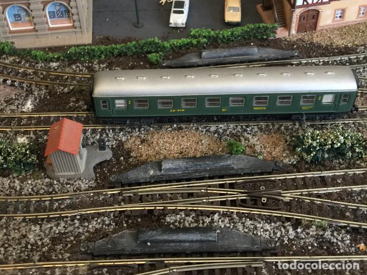 Trenes Escala: Extraordinaria y única MAQUETA DE TREN, gran tamaño, + de 3 mts de largo. Escala N. Una obra de arte - Foto 69 - 129289567