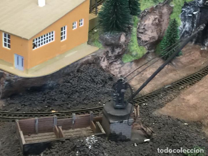 Trenes Escala: Extraordinaria y única MAQUETA DE TREN, gran tamaño, + de 3 mts de largo. Escala N. Una obra de arte - Foto 70 - 129289567