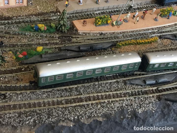 Trenes Escala: Extraordinaria y única MAQUETA DE TREN, gran tamaño, + de 3 mts de largo. Escala N. Una obra de arte - Foto 71 - 129289567