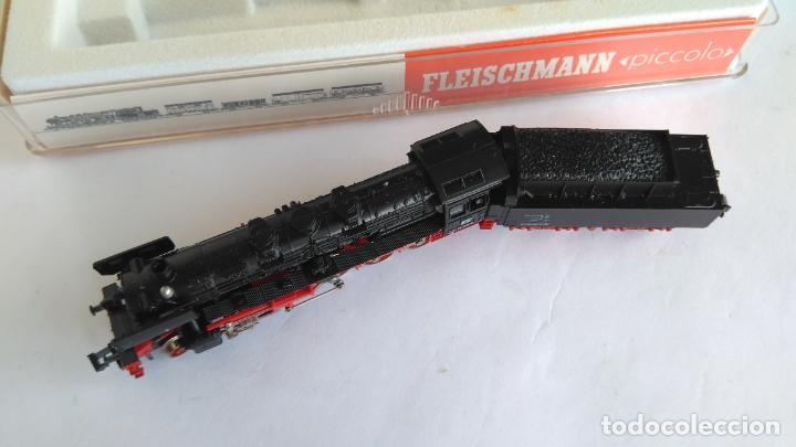 Trenes Escala: FLEISCHMANN N LOCOMOTORA VAPOR CON TENDER, EN CAJA. VÁLIDA IBERTREN 2N - Foto 3 - 132781478