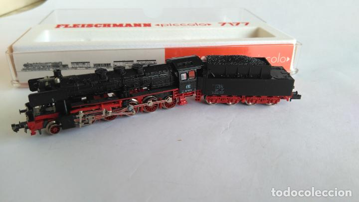 Trenes Escala: FLEISCHMANN N LOCOMOTORA VAPOR CON TENDER, EN CAJA. VÁLIDA IBERTREN 2N - Foto 5 - 132781478