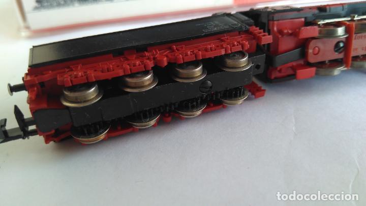 Trenes Escala: FLEISCHMANN N LOCOMOTORA VAPOR CON TENDER, EN CAJA. VÁLIDA IBERTREN 2N - Foto 6 - 132781478