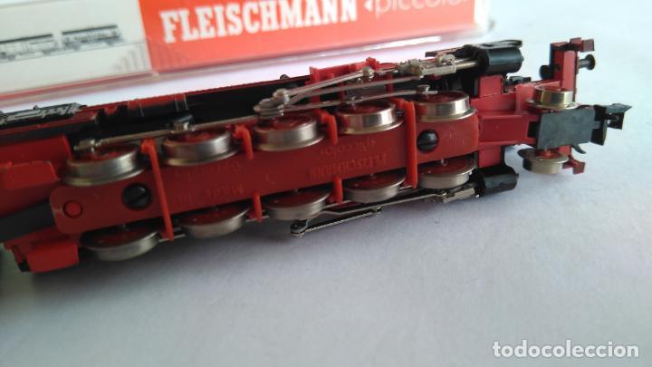 Trenes Escala: FLEISCHMANN N LOCOMOTORA VAPOR CON TENDER, EN CAJA. VÁLIDA IBERTREN 2N - Foto 7 - 132781478