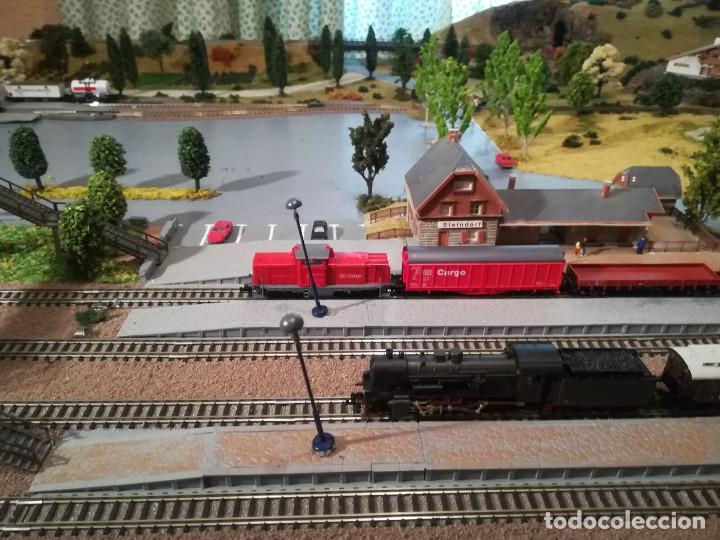 Trenes Escala: Maqueta de trenes N con vías Fleischmann - Foto 2 - 134733006