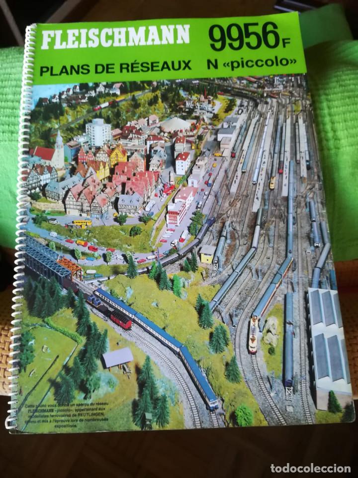Trenes Escala: Maqueta de trenes N con vías Fleischmann - Foto 3 - 134733006