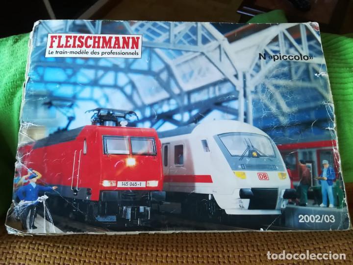 Trenes Escala: Maqueta de trenes N con vías Fleischmann - Foto 4 - 134733006