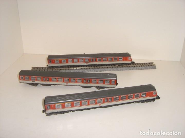 Trenes Escala: FLEISCHMANN N pendolino 3 piezas (Con compra de cinco lotes o mas envío gratis) - Foto 2 - 138200674