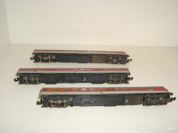 Trenes Escala: FLEISCHMANN N pendolino 3 piezas (Con compra de cinco lotes o mas envío gratis) - Foto 3 - 138200674