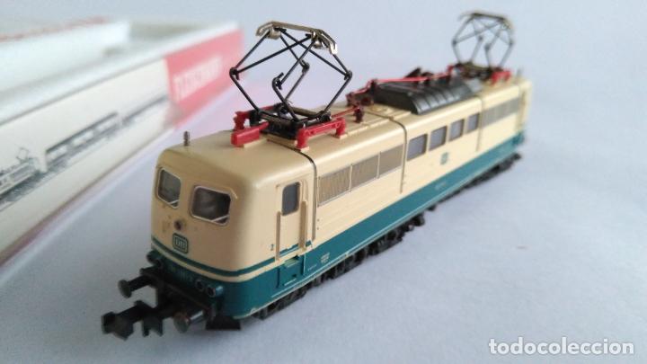 Trenes Escala: FLEISCHMANN N PICCOLO LOCOMOTORA ELÉCTRICA DE LA DB. EN CAJA.VÁLIDA IBERTREN 2N - Foto 2 - 139239834