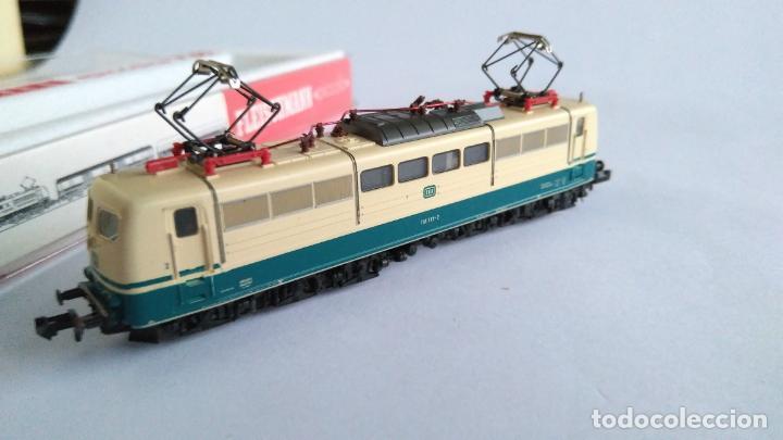 Trenes Escala: FLEISCHMANN N PICCOLO LOCOMOTORA ELÉCTRICA DE LA DB. EN CAJA.VÁLIDA IBERTREN 2N - Foto 4 - 139239834