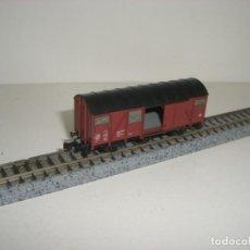 Trenes Escala: FLEISCHMANN N CERRADO PUERTAS CORREDERAS (CON COMPRA DE CINCO LOTES O MAS ENVÍO GRATIS). Lote 140015086