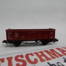 Trenes Escala: VAGÓN BORDE ALTO ESCALA N DE FLEISCHMANN. Lote 140035374