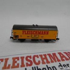 Trenes Escala: VAGÓN CERRADO ESCALA N DE FLEISCHMANN . Lote 140035502