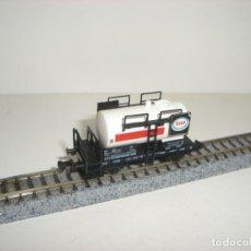 Trenes Escala: FLEISCHMANN N CISTERNA ESSO (CON COMPRA DE CINCO LOTES O MAS ENVÍO GRATIS). Lote 140152642