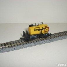 Trenes Escala: FLEISCHMANN N CISTERNA SHELL (CON COMPRA DE CINCO LOTES O MAS ENVÍO GRATIS). Lote 140152746