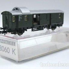 Trenes Escala: TREN,FLEISCHMANN 8060 K,FURGÓN 2 EJES DB, 114 788 KÖL PWI, EPOCA III. Lote 142801930