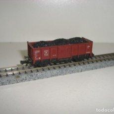 Trenes Escala: FLEISCHMANN N BORDE MEDIO CARGA CARBÓN (CON COMPRA DE 5 LOTES O MAS ENVÍO GRATIS). Lote 143734482