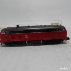 Trenes Escala: LOCOMOTORA DIESEL DE LA DB ESCALA N DE FLEISCHMANN . Lote 146595078