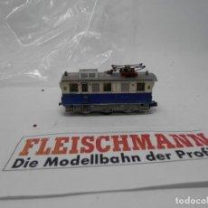 Trenes Escala: LOCOMOTORA ELECTRICA ESCALA N DE FLEISCHMANN . Lote 147402462