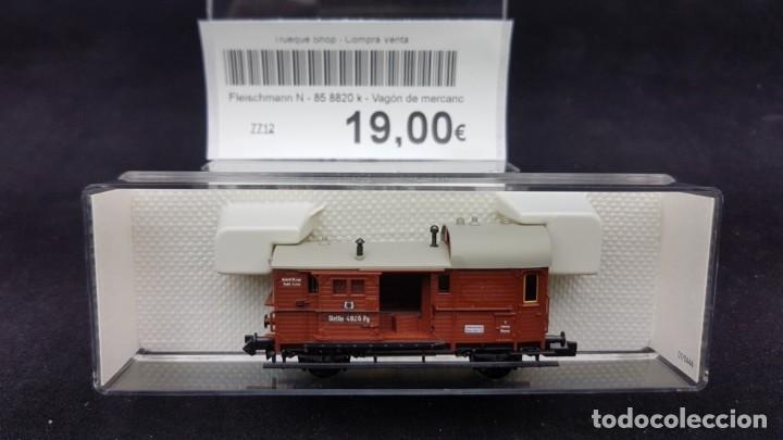Trenes Escala: Fleischmann N - 85 8820 k - Vagón de mercancías Escala N - Foto 2 - 150955542