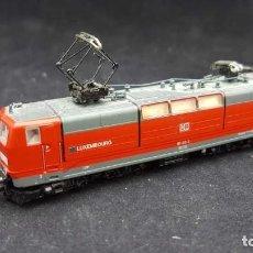 Trenes Escala: LOCOMOTORA FLEISCHMANN 7337 ESCALA N E-110-216-9 DB AG ROJA. Lote 153177918