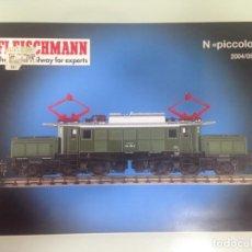 Trenes Escala: TREN, CATALOGO FLEISCHMANN N PICCOLO 2004-2005, 148 PAGINAS. Lote 155147070