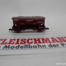 Trenes Escala: VAGÓN TOLVA RENFE ESCALA N DE FLEISCHMANN . Lote 156765142