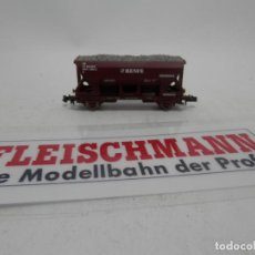 Trenes Escala: VAGÓN TOLVA RENFE ESCALA N DE FLEISCHMANN . Lote 156765202