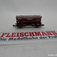 Trenes Escala: VAGÓN TOLVA RENFE ESCALA N DE FLEISCHMANN . Lote 156766322