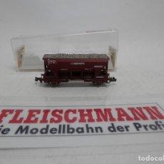 Trenes Escala: VAGÓN TOLVA RENFE ESCALA N DE FLEISCHMANN . Lote 156766614