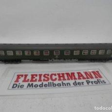 Trenes Escala: VAGÓN PASAJEROS DE LA DB ESCALA N DE FLEISCHMANN . Lote 157056038