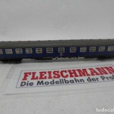 Trenes Escala: VAGÓN PASAJEROS DE LA DB ESCALA N DE FLEISCHMANN . Lote 157061754